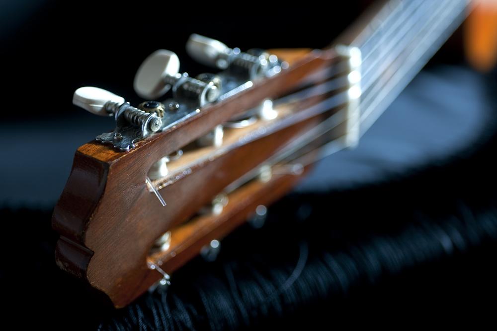 Guitarra espa–ola - Clavijero