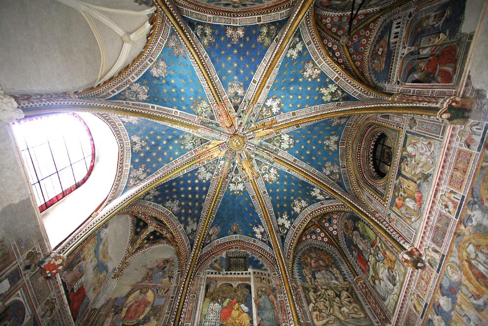 Toledo. Catedral - B—vedas de la Capilla de San Blas