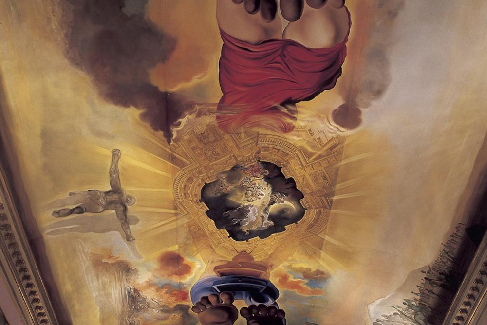 ©agenciacatalanaturismo spain-luxury-travel-incoming-dmc-concierge-catalonia-dali-museu-paintings-ceiling-art